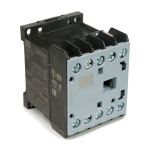 Mini Contator Tripolar Weg CWC012-01-30C03 12A 24VDC 1NF