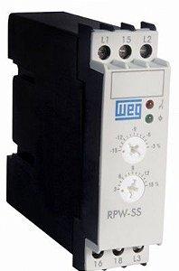 Relé Protetor Sub e Sobre Tensão Weg RPW-SS-D23 220V 50/60HZ
