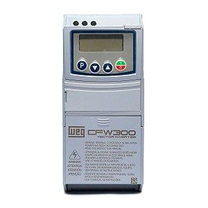 Inversor de Frequência Weg CFW300 Mono 1,5cv 6A 220V