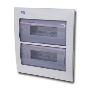 Quadro De Distribuição Embutir Weg QDW02 24 Disjuntor Din