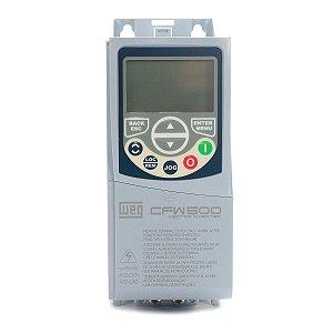 Inversor de Frequência Weg CFW500 Mono 2cv 7A 220V C/P-IOS