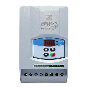 Inversor de Frequência Weg CFW10 Clean Mono 2cv 7.3A 220V