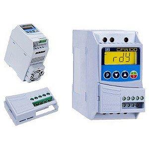 Kit Inversor CFW100 0,5cv + Módulo Expansão IOAR Weg