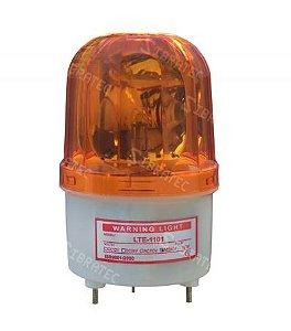 Sinalizador Giratório tipo Giroflex Amarelo LTE1101 220VAC