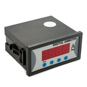 Amperimetro Digital Industrial 220V sem Alarme 48X96mm