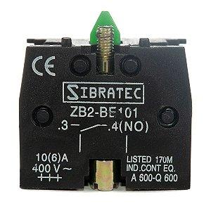 Bloco de Contato ZB2-BE101 Normalmente Aberto NA
