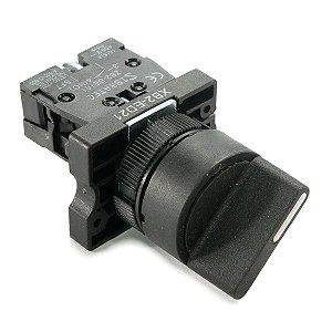 Chave Seletora XB2-ED21 2 Posiçoes Plástico