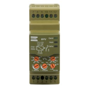 Monitor De Tensão Monofásico Max e Min BPV 100/240V Coel