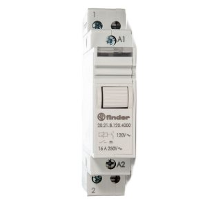 Rele de Impulso Modular Finder 120Vac 1NA 16A