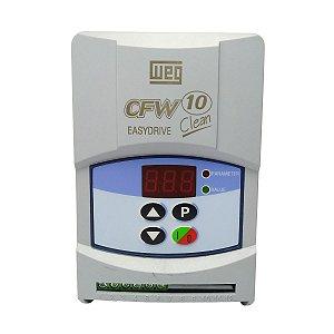 Inversor de Frequência Weg CFW10 Clean Tri 0,5cv 2,6A 220V