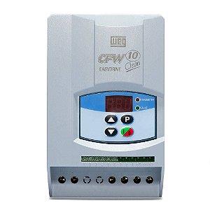 Inversor de Frequência Weg CFW10 Clean Tri 1cv 4A 220V