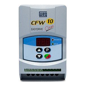 Inversor Frequência Weg CFW10 Clean Tri 2cv 7,3A 220V
