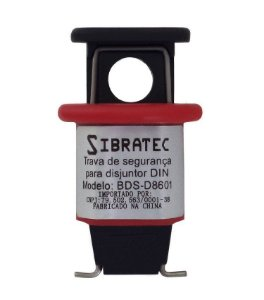 Trava para Disjuntor DIN 1~70A 18mm DBS-D8601 NR12 Sibratec