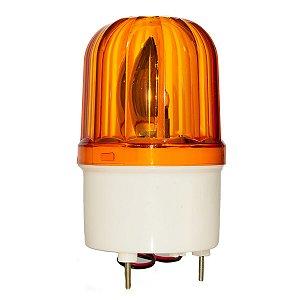 Sinalizador Giratório tipo Giroflex Amarelo LTE1101 24Vdc