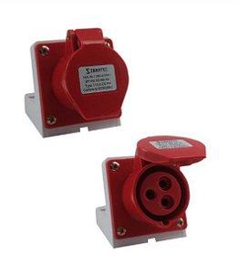 Tomada Industrial Sobrepor 113-9 16A 9H 2P+T 380-415V VM