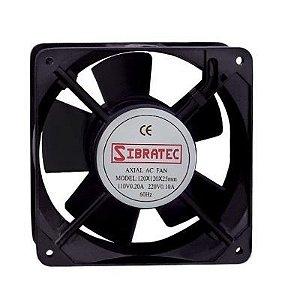 Ventilador Cooler Painel Eletrico Bivolt 120x120x25mm