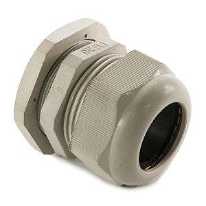 Prensa Cabo Plástico PG-36 Cinza (22 á 32mm²)
