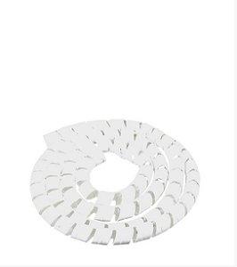 Espiral Branco SBW12-BR Diâmetro de 10-12mm 10m