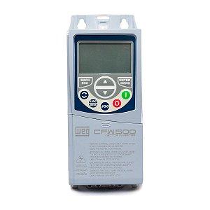 Inversor de Frequencia Weg CFW500 Trifasico 2CV 220V 7A S/P