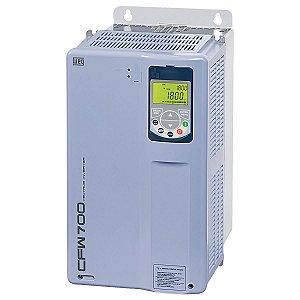 Inversor de Frequencia Weg CFW700 Tri 30cv 58,5A 380V ou 440V