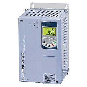 Inversor de Frequência Weg CFW700 Tri 10cv 17A 380V ou 440V