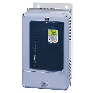 Inversor de Frequência Weg CFW700 Tri 100cv 180A 380V ou 440V