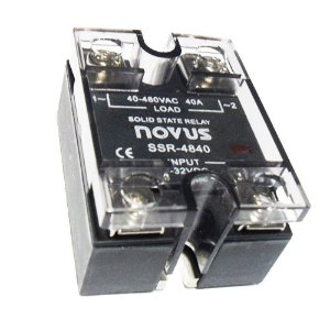 Relé de Estado Sólido SSR-4840 40A / 480VAC - Novus