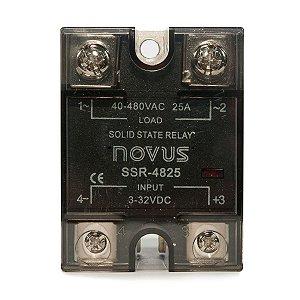 Relé de Estado Sólido Novus SSR4825 25A / 480VAC
