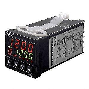Controlador Universal de Processos N1200-USB PID Novus