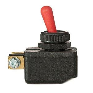Chave Margirius Cs 301-d Vermelho Plastica TIC TAC Liga / Desliga 6a