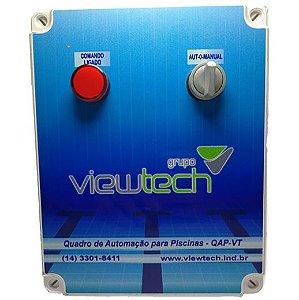 Quadro de Automação para Piscinas QAP-VT 1,8-2,8A Trifásico