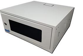 Mini Rack Compact Lite 15 Polegadas Porta Acrílica Branca