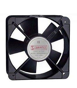 Ventilador Cooler Painel Elétrico Bivolt 15X15X5,1cm - Sibratec