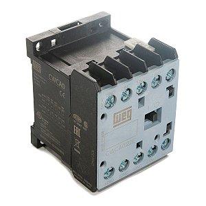Mini Contator Auxiliar AZ CWCA0-22-00V15 10A 2NA+2NF 110V Weg