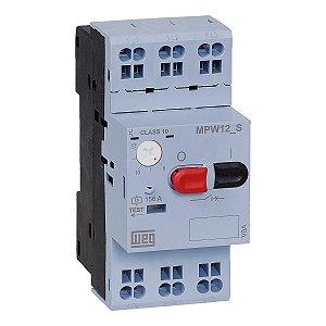Disjuntor Motor Weg MPW12-3-U001S Ajuste 0,63-1A Mola