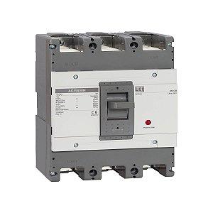 Disjuntor Caixa Moldada Weg AGW800N-DX630-3 Tripolar 630A