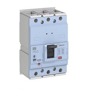 Disjuntor Caixa Moldada Weg DWB250B200 Ajuste 160-200A