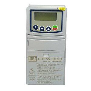 Inversor de Frequencia Weg CFW300 0,5CV 220V