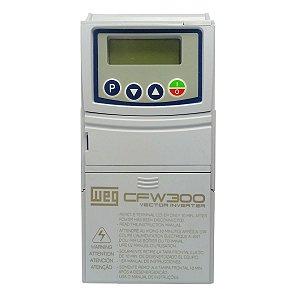 Inversor de Frequência Weg CFW300 Mono 1cv 4,20A 127V
