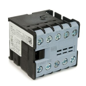 Mini Contator Tripolar Weg 7A AZ CW07-10-30V0 24Vac 1NA Azul