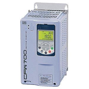 Inversor de Frequência Weg CFW700 Trifásico 7,5cv 24A 220V