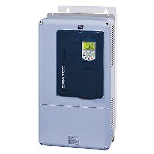 Inversor de Frequência Weg CFW700 Tri 100cv 142A 380V ou 440V