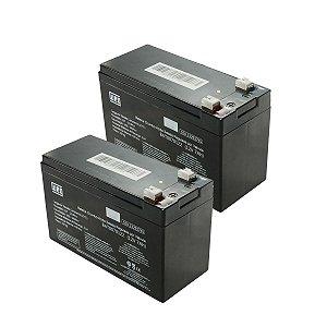 Kit com 2 Bateria Selada Weg VRLA 7Ah 12V