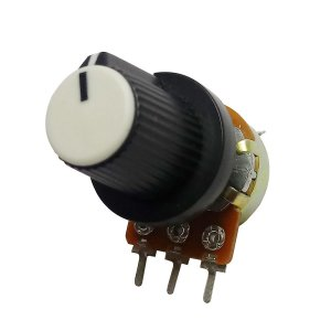 Potenciômetro Linear + Knob 10KB l20/16mm Weg