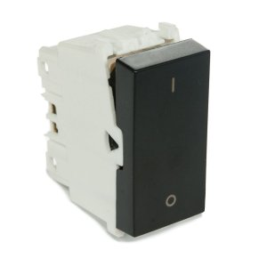 Modulo Interruptor Bipolar Simples 10A Refinatto Weg Preto