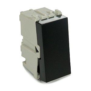 Modulo Interruptor Simples 10A Refinatto Weg Preto
