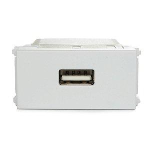 Modulo Tomada Carregador USB Refinatto 127/220V Weg Branco