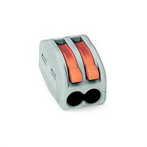 Conector de Emendas para Fios de 0.08 - 2.5mm 2 Vias - 10UN