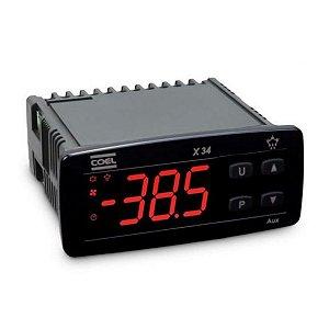Controlador para Refrigeração X34-HRRBE 100-240VCA Vermelho