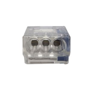 Conector de Emendas para Fios 3 Vias à Mola - 10UN